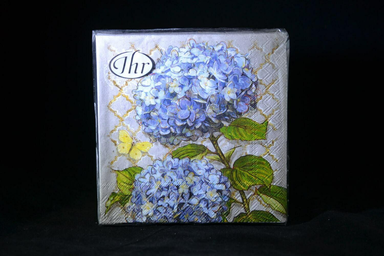 Blue Heirloom Flowers Beverage