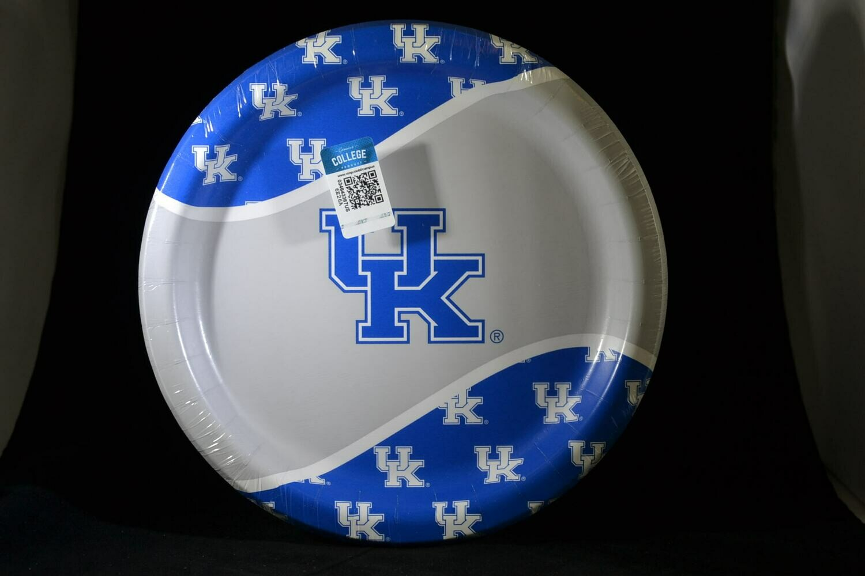 "University Of Kentucky 9"" Plates"