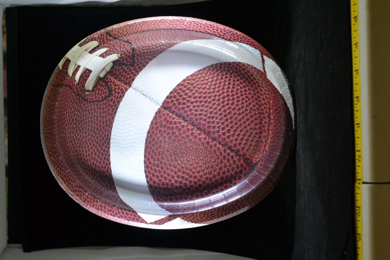 Football Oval Platters