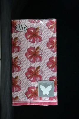 Guest Napkin Hibiscus