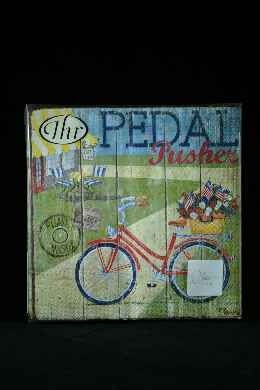 Pedal Pusher Lunch Napkin