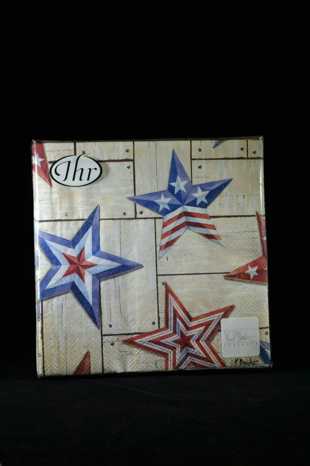 Patriotic Barn Star Luncheon Napkins