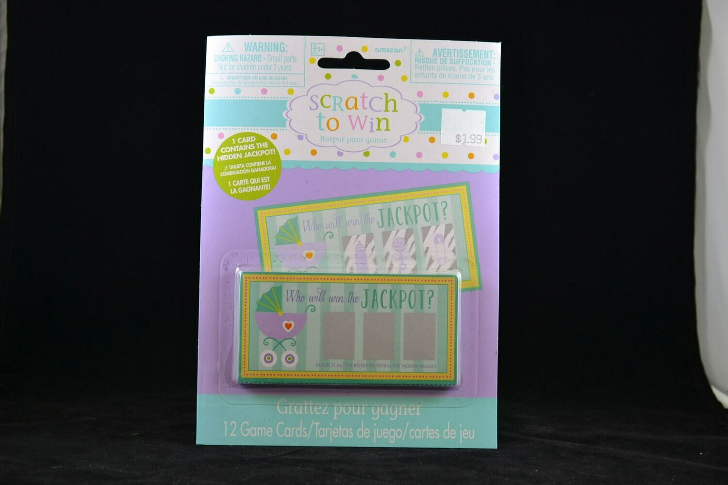 Baby Shower Scratch And Win Game
