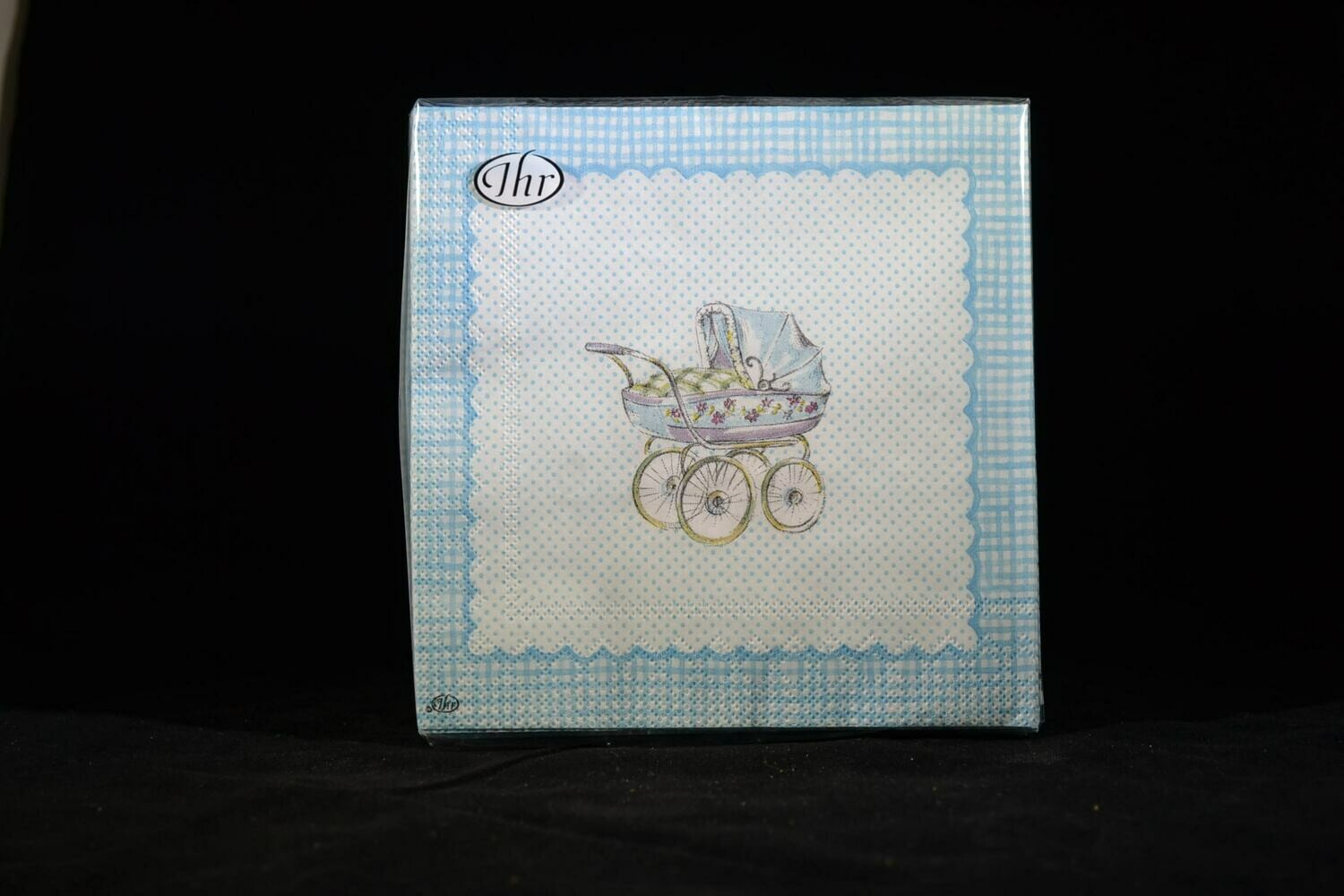 For My Little Baby Light Blue Luncheon Napkins
