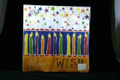 Make A Wish Luncheon Napkins