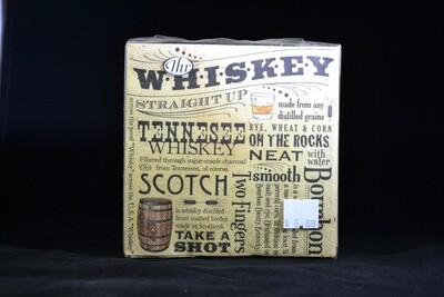 Whiskey Beverage / Cocktail  Napkins