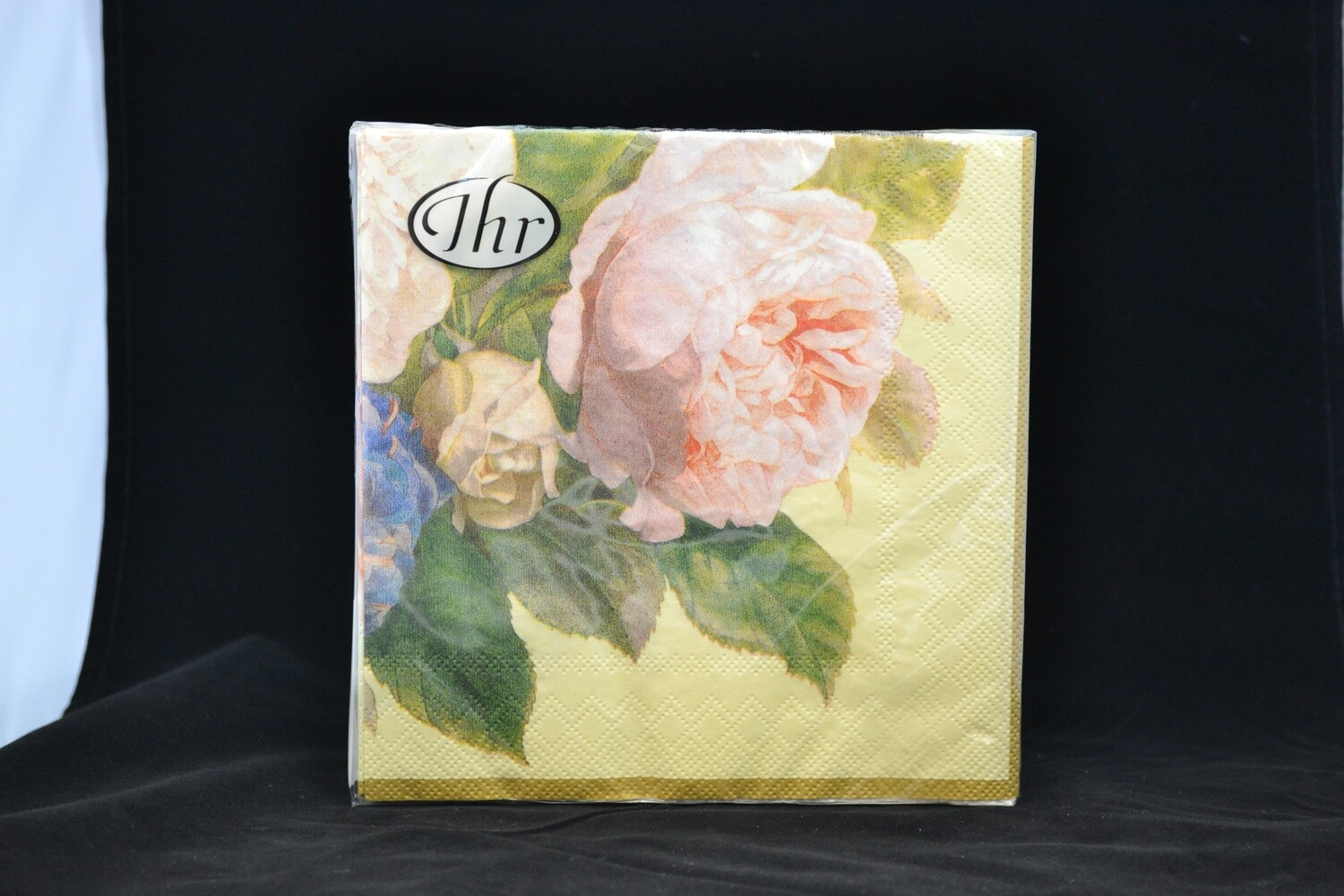 Fairy Rose Cream Luncheon Napkin