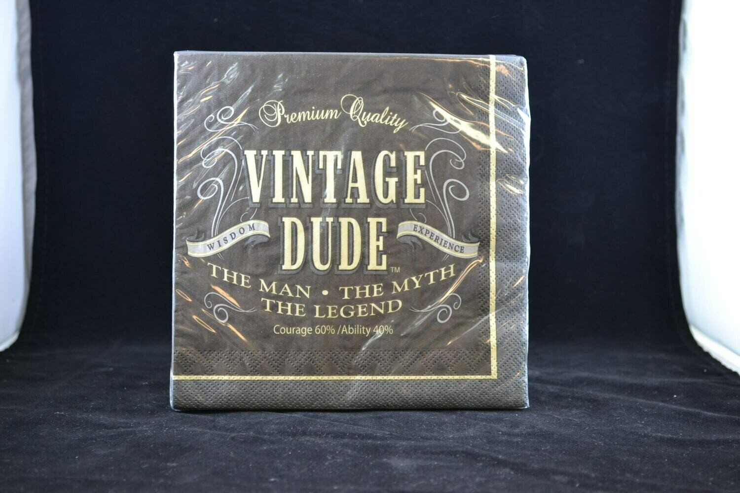 Vintage Dude Lunch Napkin