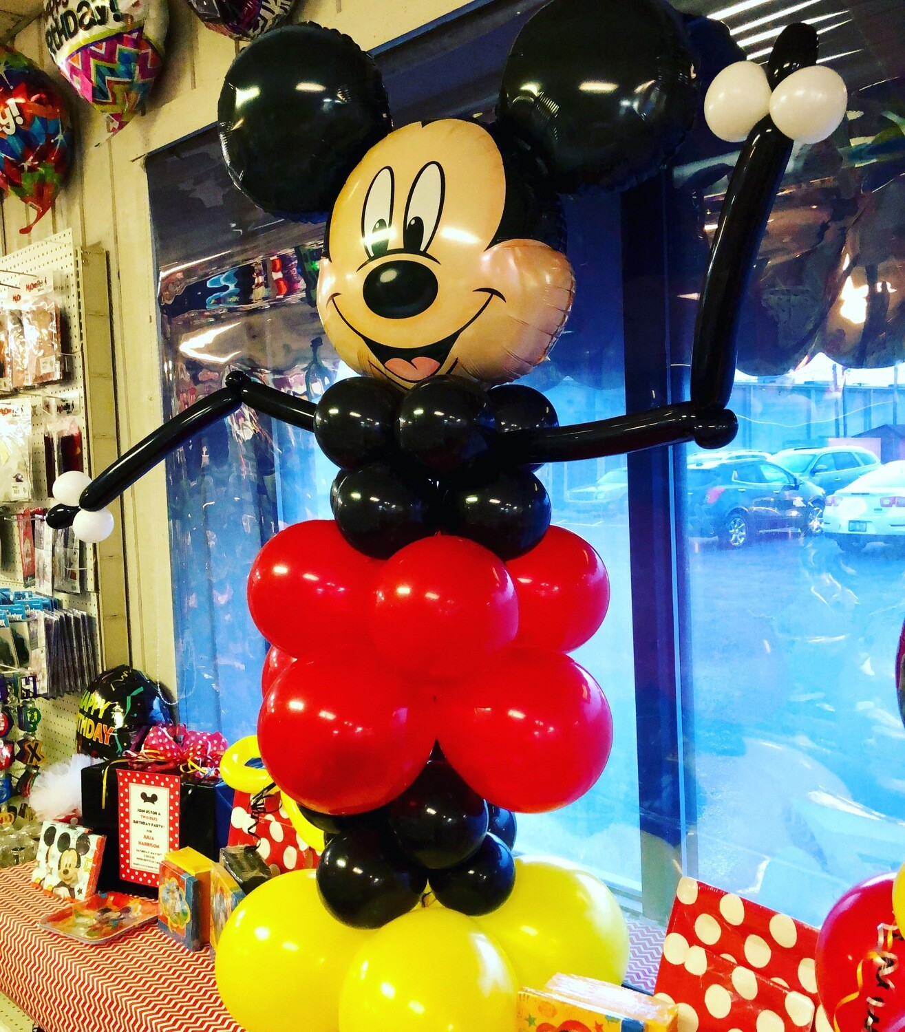 Mickey Mouse 4 1/2 feet height