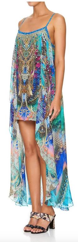 Camilla Mini Dress W/ Long Overlay Freedom Flight