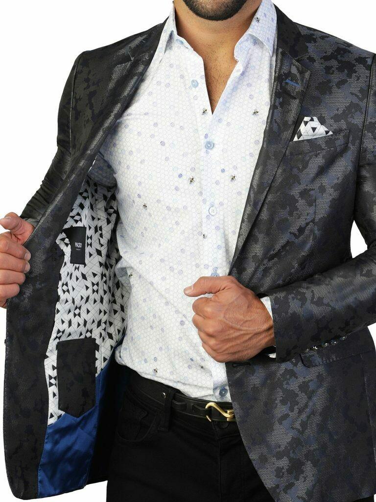 Maceoo Blazer Socrate Camo Grey