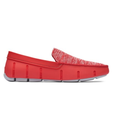 Swims Classic Venetian Loafers Red