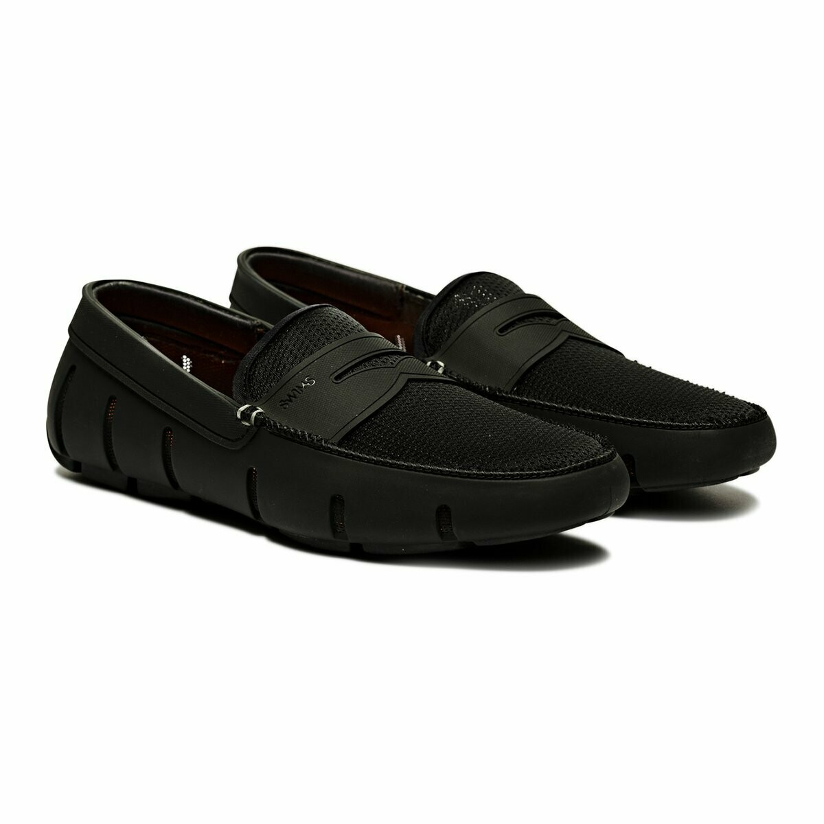 Swims Penny Loafer Black