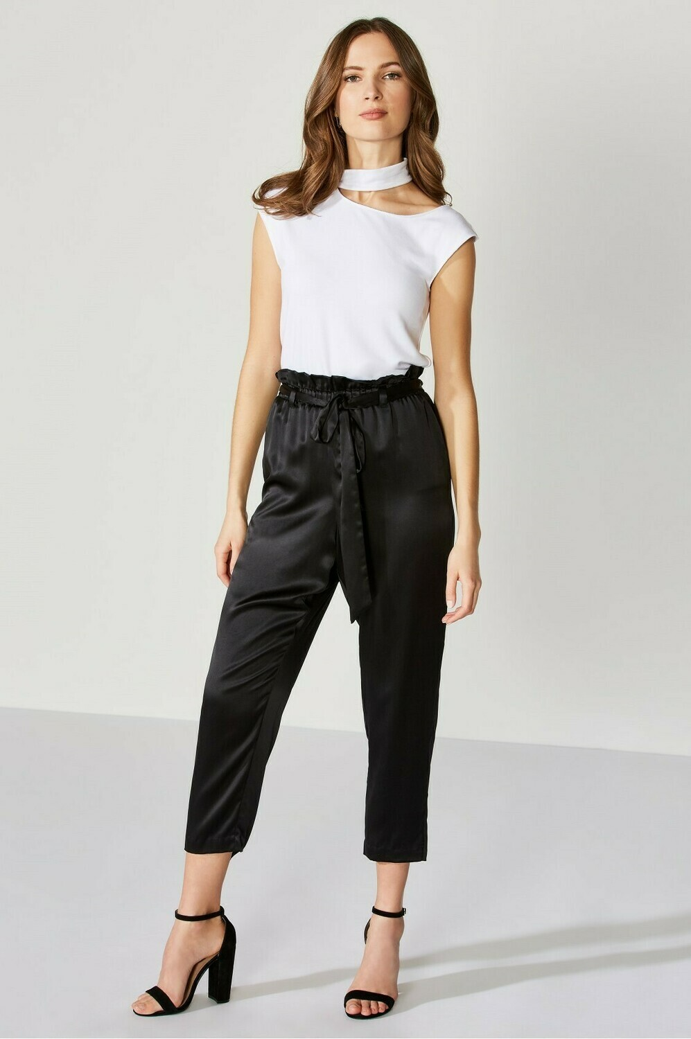 Bailey 44 Bag Man Pant in Black