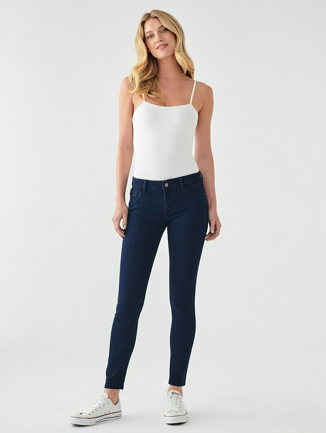 DL 1961 Emma Low Rise Skinny in  Stowe
