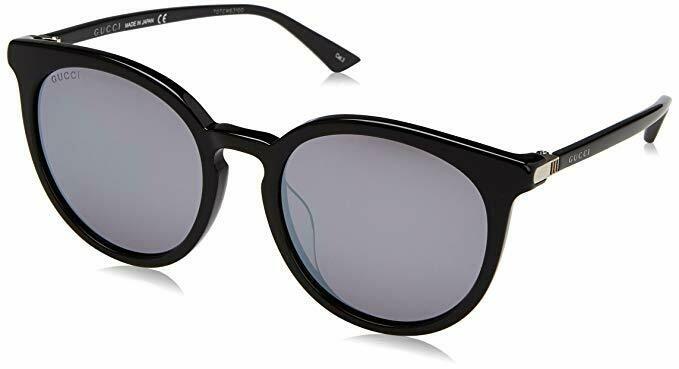 Gucci Acetate Mirrored Sunglasses In Black