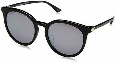 Gucci Acetate Mirrored Sunglasses In Black
