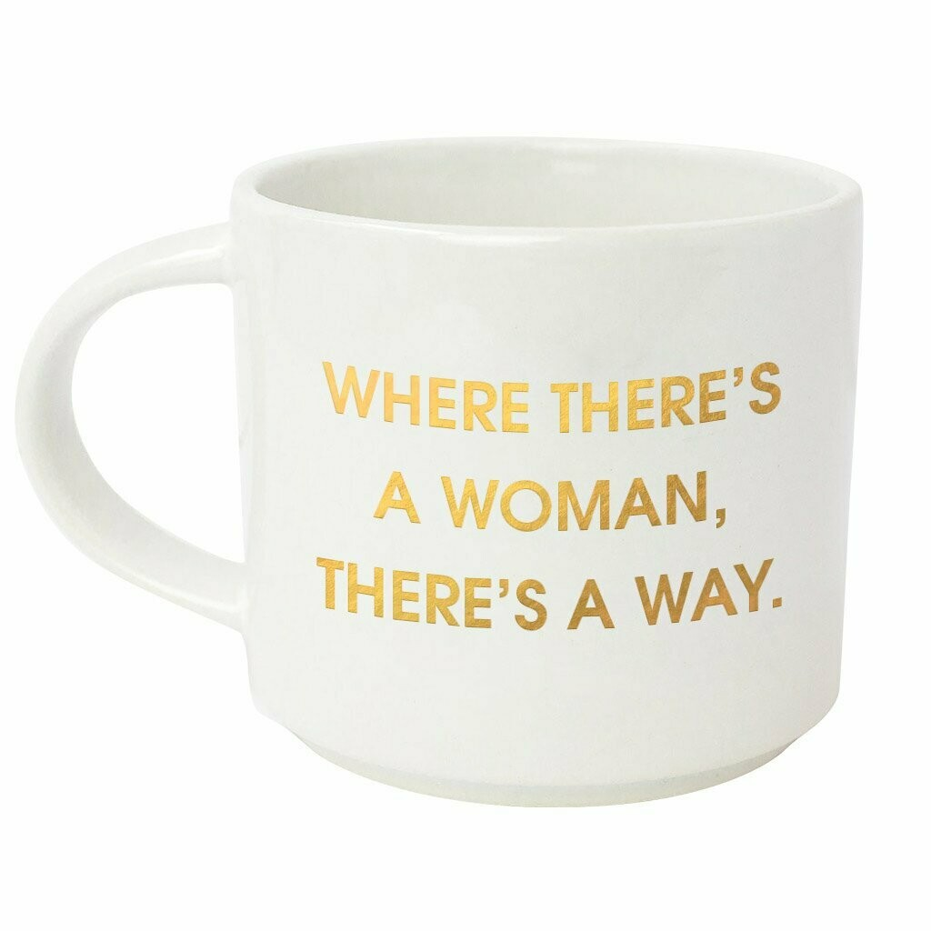 Chez Gagné Where There's A Woman There's Way Mug
