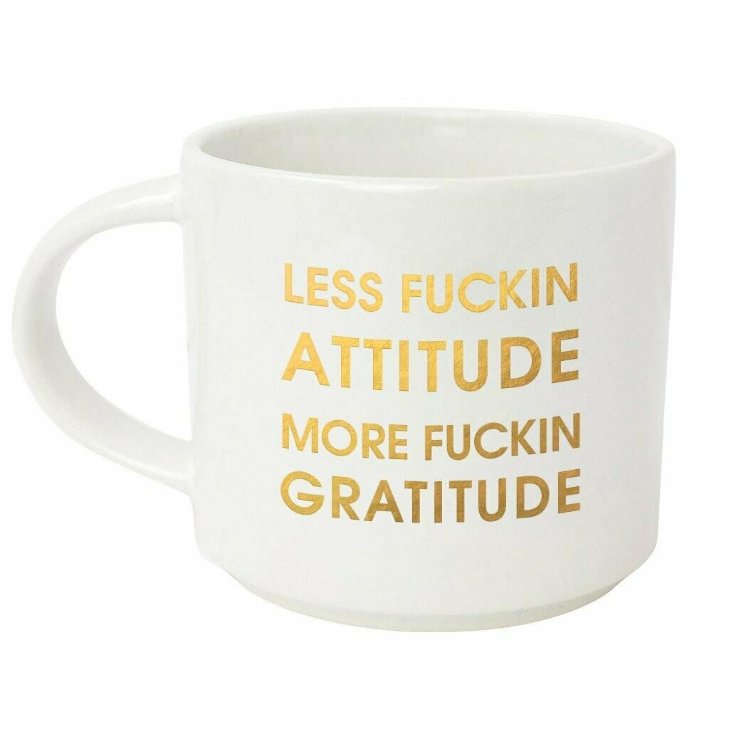 Chez Gagné Less Fucking Attitude, More Fucking Gratitude