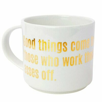 Chez Gagné Good Things Come Mug