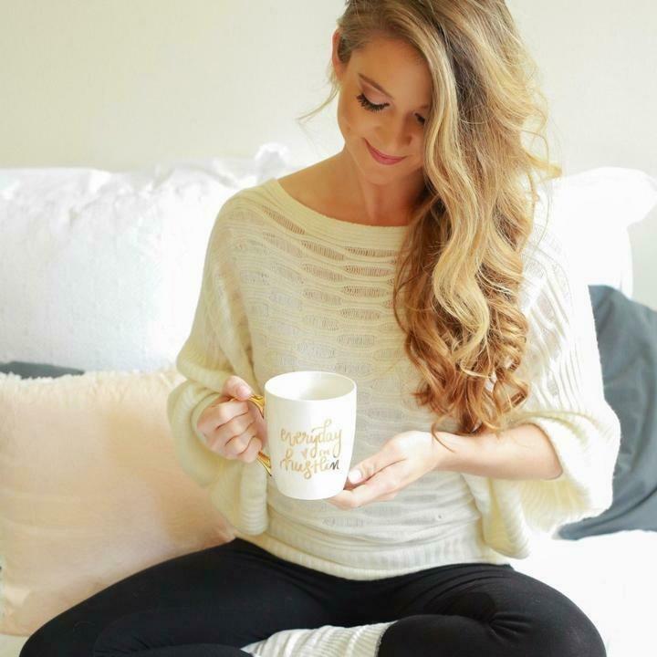 SWD I'm Hustlin' Motivational Coffee Mug