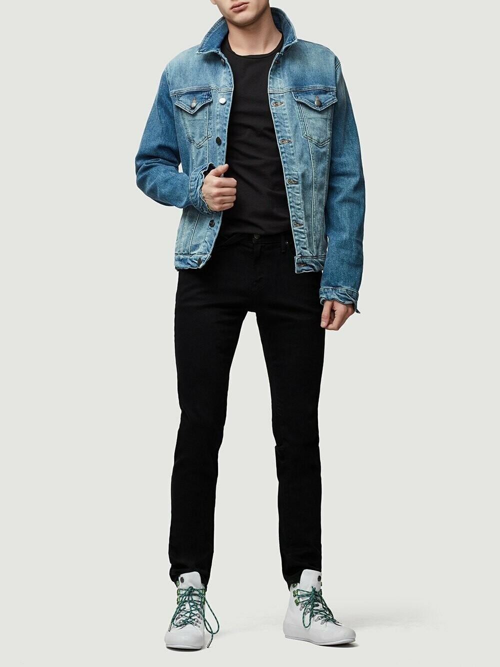 Frame L'Homme Skinny Jeans in Noir