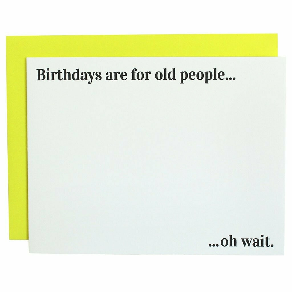"""Chez Gagné  """"Birthdays Are for Old People"""""""