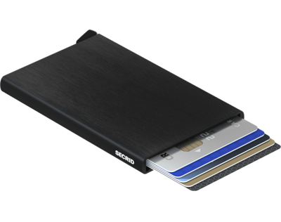 Secrid Cardprotector in Brushed Black