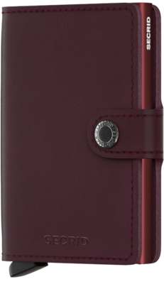 Secrid Miniwallet  in Original Bordeaux