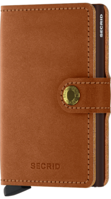Secrid Miniwallet in Original Cognac-Brown