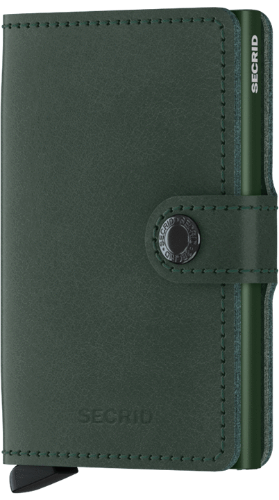 Secrid Miniwallet in Original Green