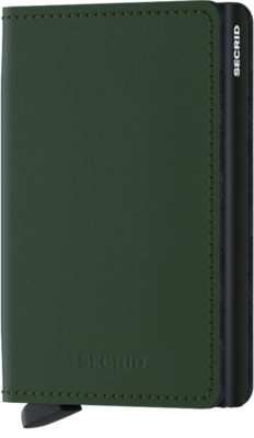 Secrid Slimwallet in Matte Green