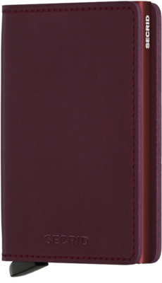 Secrid Slimwallet in Original Bordeaux