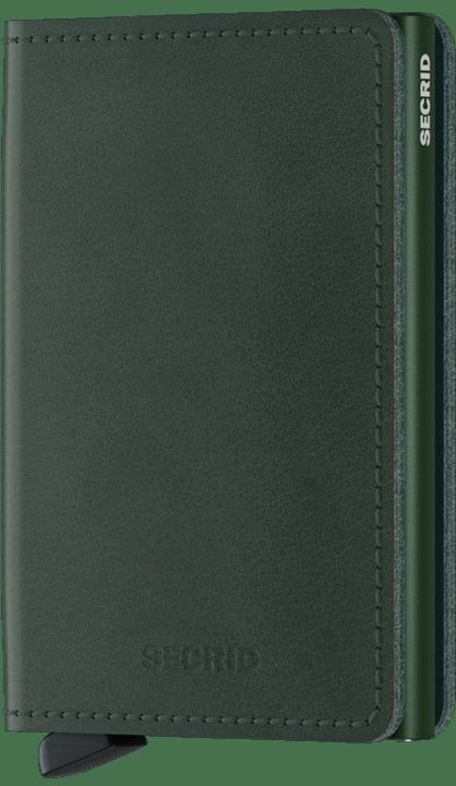 Secrid Slimwallet in Original Green