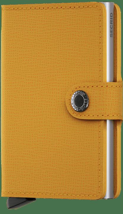 Secrid Miniwallet in Crisple Amber