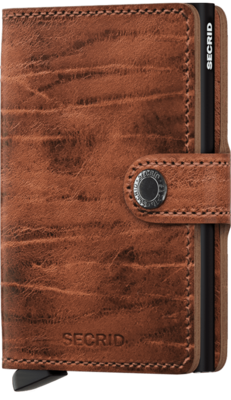 Secrid Miniwallet in Dutch Martin Whiskey