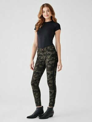 DL 1961 Florence Ankle Mid Rise Skinny in Fort Greene