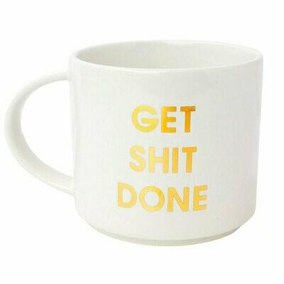Chez Gagné Get Shit Done Mug