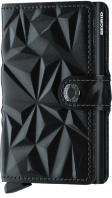 Secrid Miniwallet in Prism Black