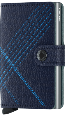 Secrid Miniwallet in Stitch Linea Navy