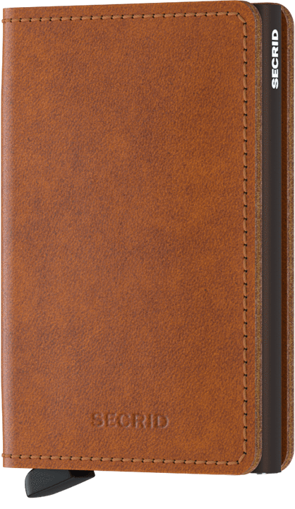 Secrid Slimwallet in Original Cognac-Brown
