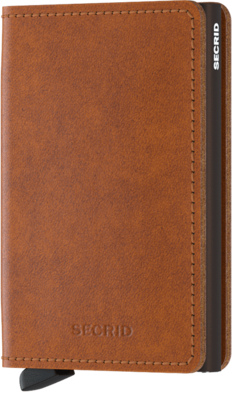 Secrid Slimwallet in Original Cognac-Brown