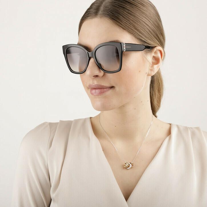 Gucci Square Sunglasses Acetate in Black