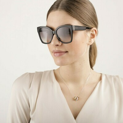 Gucci Square Sunglasses Acetate in Black
