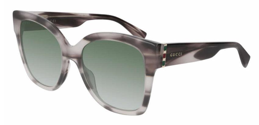 Gucci Square Sunglasses Acetate  in Havana/Gold