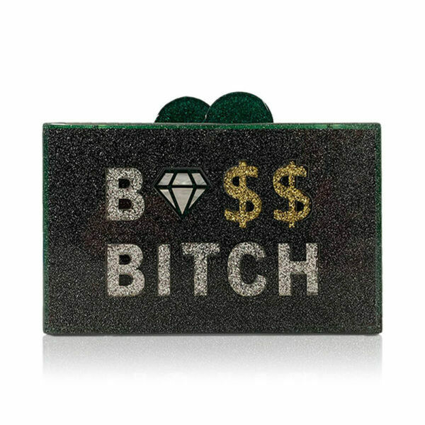Elizabeth Sutton Clutch Boss Bitch