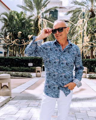 Jackie Z Men's Dress Shirt Fall 2019