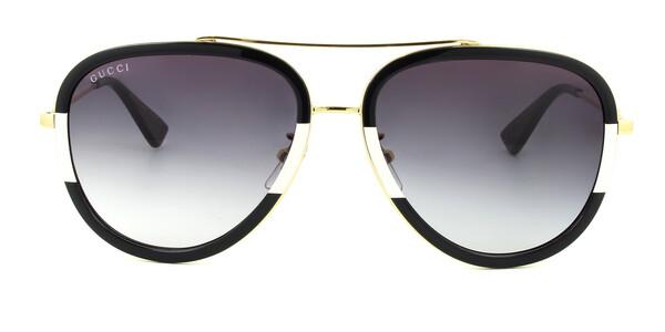 Gucci Aviator Metal Sunglasses