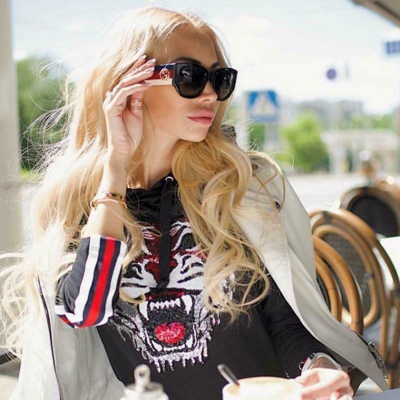 Gucci Sensual Romantic Acetate Sunglass