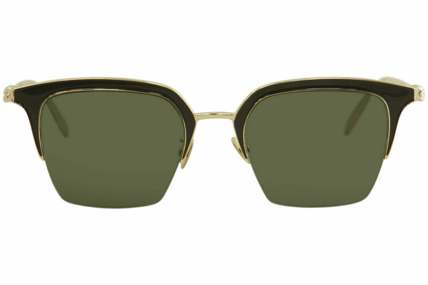 Alexander McQueen Uni-Sex Iconic Gold Sunglasses